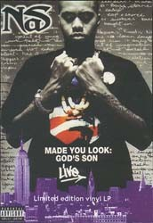 Nas - Made You Look: God's Son Live DVD - 2020309