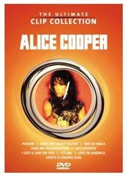 Alice Cooper - The Ultimate Clip Collection DVD - 2021569