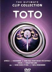 Toto - The Ultimate Clip Collection DVD - 2021599