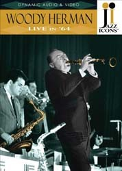 Woody Herman Live In 64 (Jazz Icons) - Live In 64 CD - 2119016