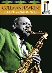 Coleman Hawkins Live In 62/64 (Jazz Icon - Live In 62/64 DVD - 2119020