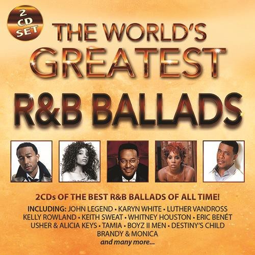 The World's Greatest R&B Ballads CD - CDBSP3385