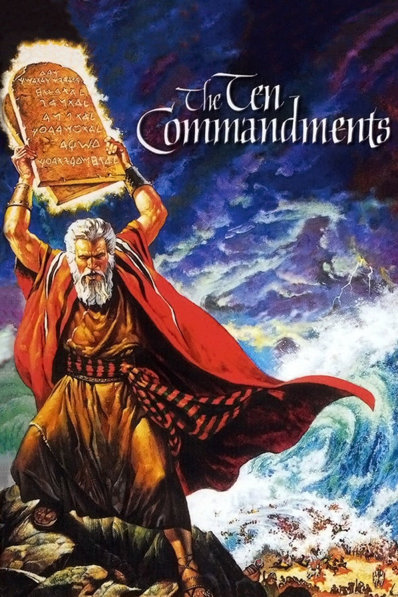 The Ten Commandments DVD - EC102746 DVDP