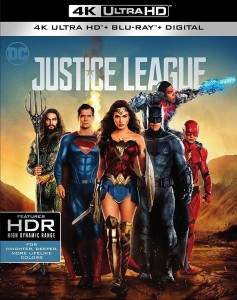 Justice League 4K UHD+Blu-Ray - Y34842 BDW