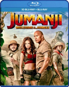Jumanji: Welcome to the Jungle 3D Blu-Ray+Blu-Ray - 10228467
