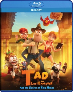 Tad the Lost Explorer and the Secret of King Midas Blu-Ray - SL148528 BDP