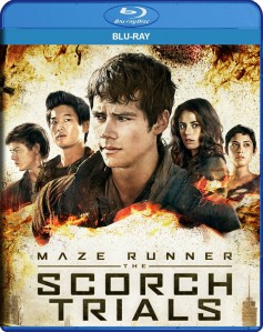 Maze Runner: The Scorch Trials Blu-Ray - BDF 64708