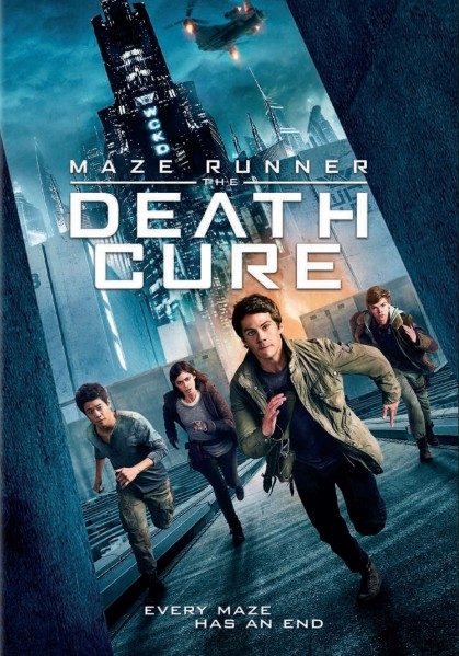 Maze Runner: The Death Cure DVD - 67900 DVDF