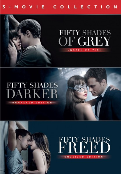 fifty shades trilogy dvd echo 39 s record bar online store. Black Bedroom Furniture Sets. Home Design Ideas