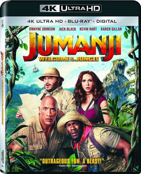Jumanji: Welcome to the Jungle 4K UHD+Blu-Ray - 10228420