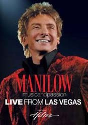 Barry Manilow - Music & Passion/Live In Las Vegas DVD - 2564640032