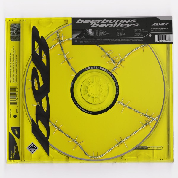 Post Malone - beerbongs & bentleys CD - 60256749111