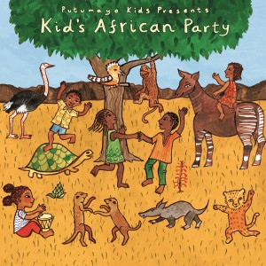 Putumayo Kids Presents Kid's African Party CD - PUT370