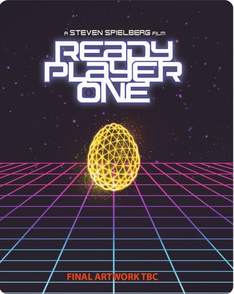 Ready Player One (Steelbook) 3D Blu-Ray+Blu-Ray - Y34907 BDW