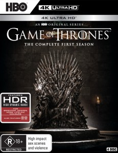 Game of Thrones: Season 1 4K UHD - Y34862 BDW