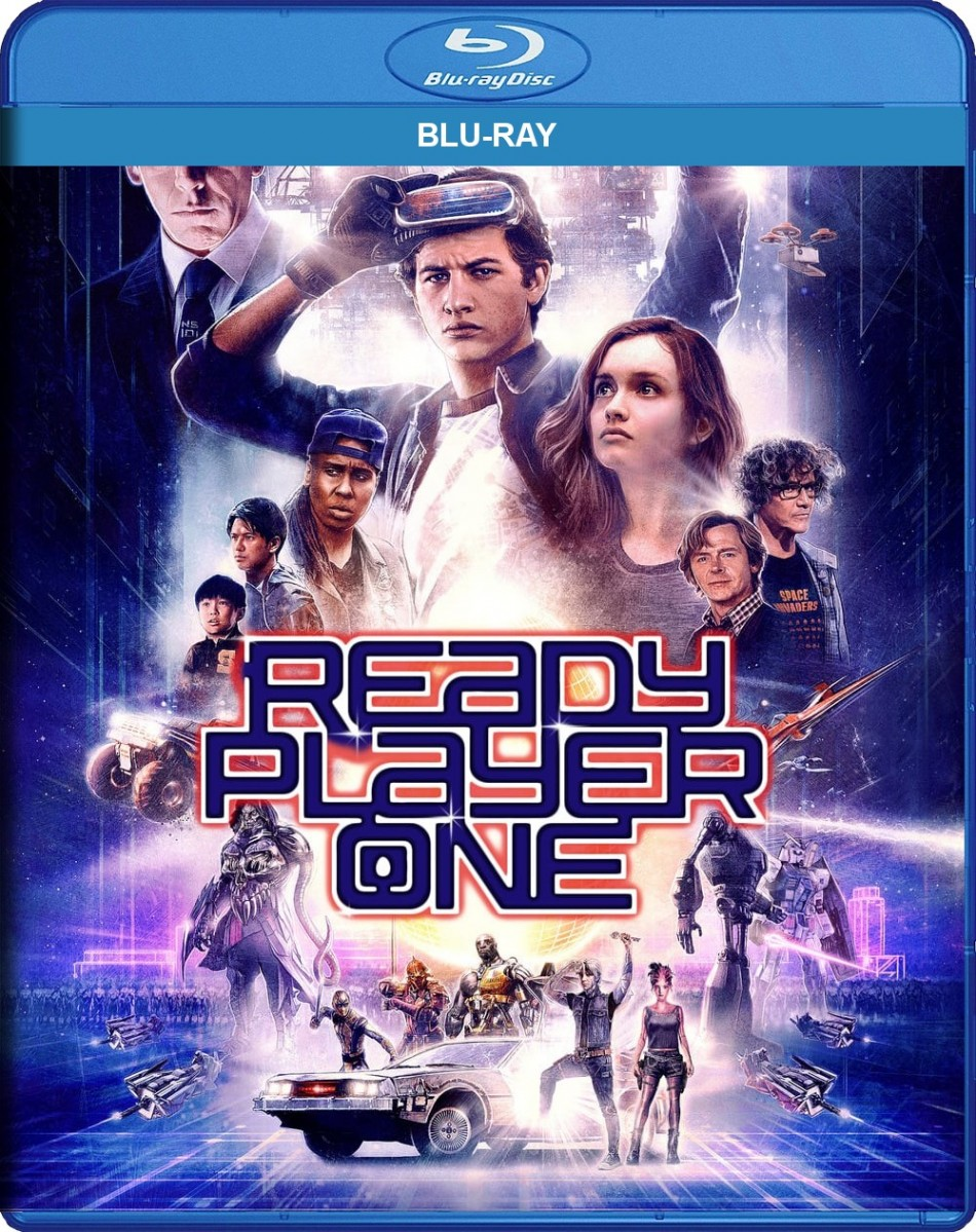 Ready Player One Blu-Ray - Y34906 BDW