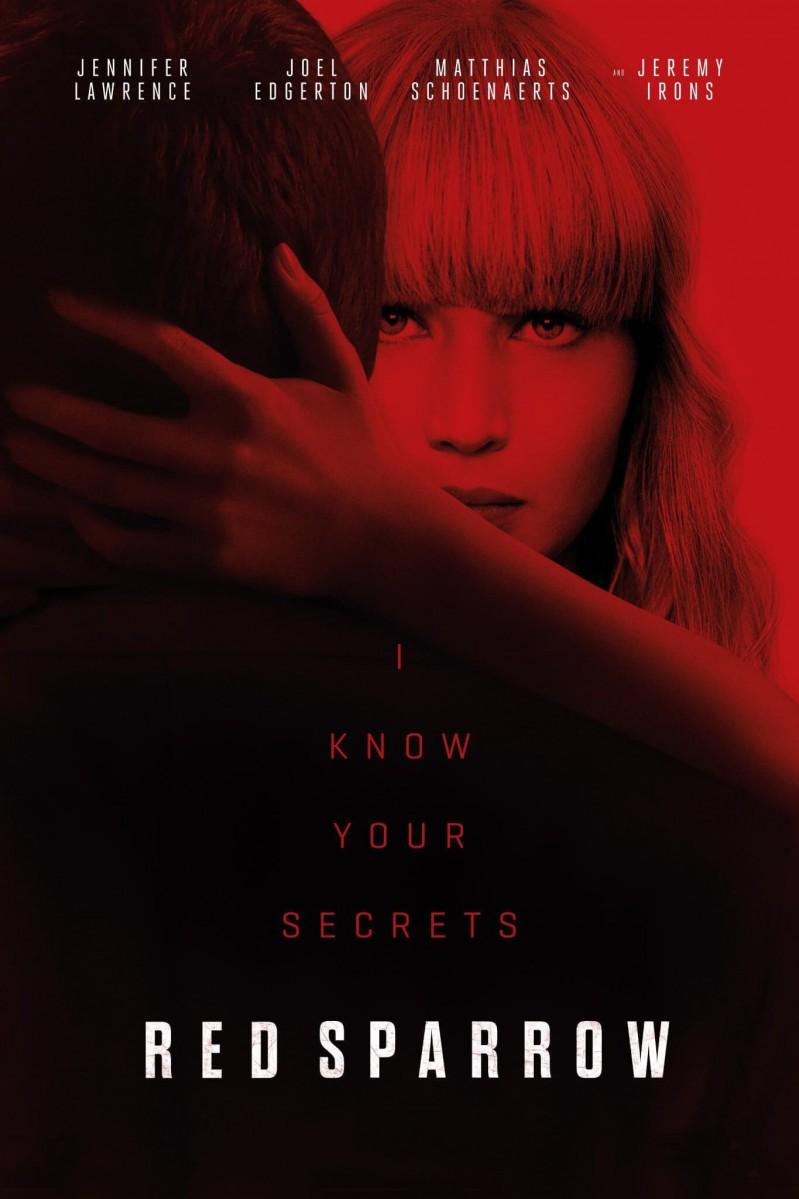 Red Sparrow DVD - 83286 DVDF
