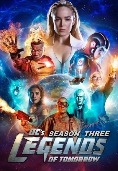 DC's Legends of Tomorrow: Season 3 DVD - Y34918 DVDW