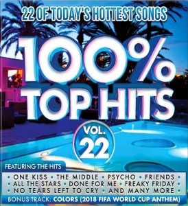 100% Top Hits Vol. 22 CD - CSRCD415