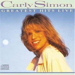 Carly Simon - Greatest Hits Live CD - 259196