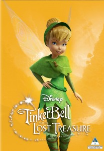 Tinker Bell and the Lost Treasure DVD - 10218226