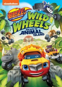 Blaze and the Monster Machines: Wild Wheels Escape to Animal Island DVD - EU148426 DVDP
