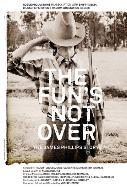 The Fun's Not Over: The James Phillips Story DVD - TFNO