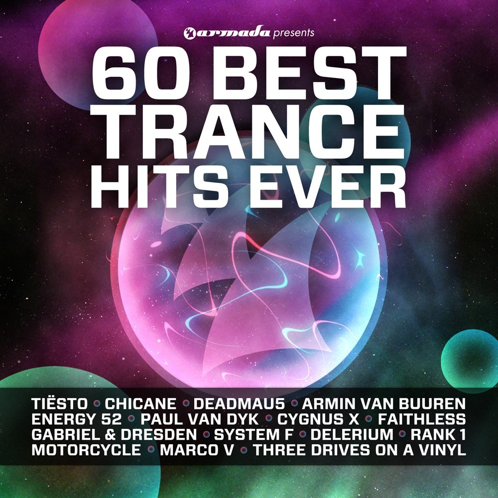 60 Best Trance Hits Ever CD - ARMA315