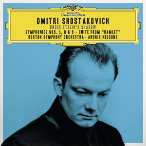 """Andris Nelsons - Shostakovich Under Stalin's Shadow - Symphonies Nos. 5, 8 & 9; Suite from """"Hamlet"""" (Live) CD - 00289 4795201"""