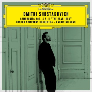 """Andris Nelsons - Shostakovich: Symphonies Nos. 4 & 11 """"The Year 1905"""" (Live) CD - 00289 4835220"""