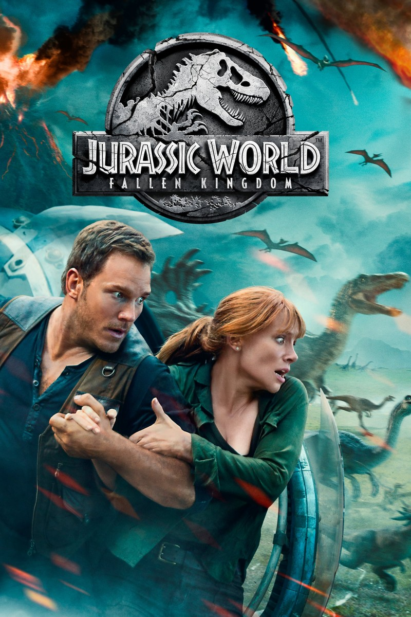Jurassic World: Fallen Kingdom DVD - 595173 DVDU