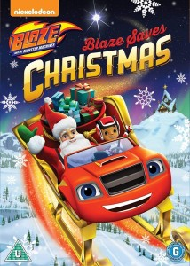 Blaze and The Monster Machines: Blaze Saves Christmas DVD - EU147841 DVDP