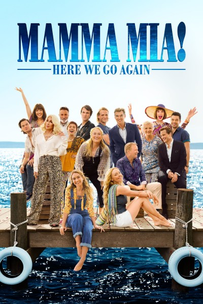 Mamma Mia! Here We Go Again DVD - 414104 DVDU
