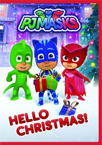PJ Masks: Hello Christmas DVD - SEND-094