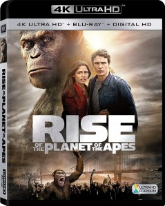 Rise of the Planet of the Apes 4K UHD+Blu-Ray - 4K BDF 50196