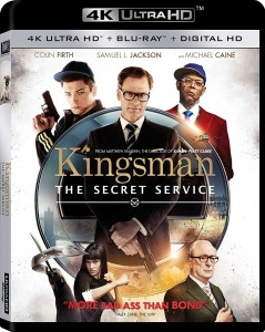 Kingsman: The Secret Service 4K UHD+Blu-Ray - 4K BDF 62211