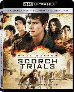 Maze Runner: The Scorch Trials 4K UHD+Blu-Ray - 4K BDF 64708