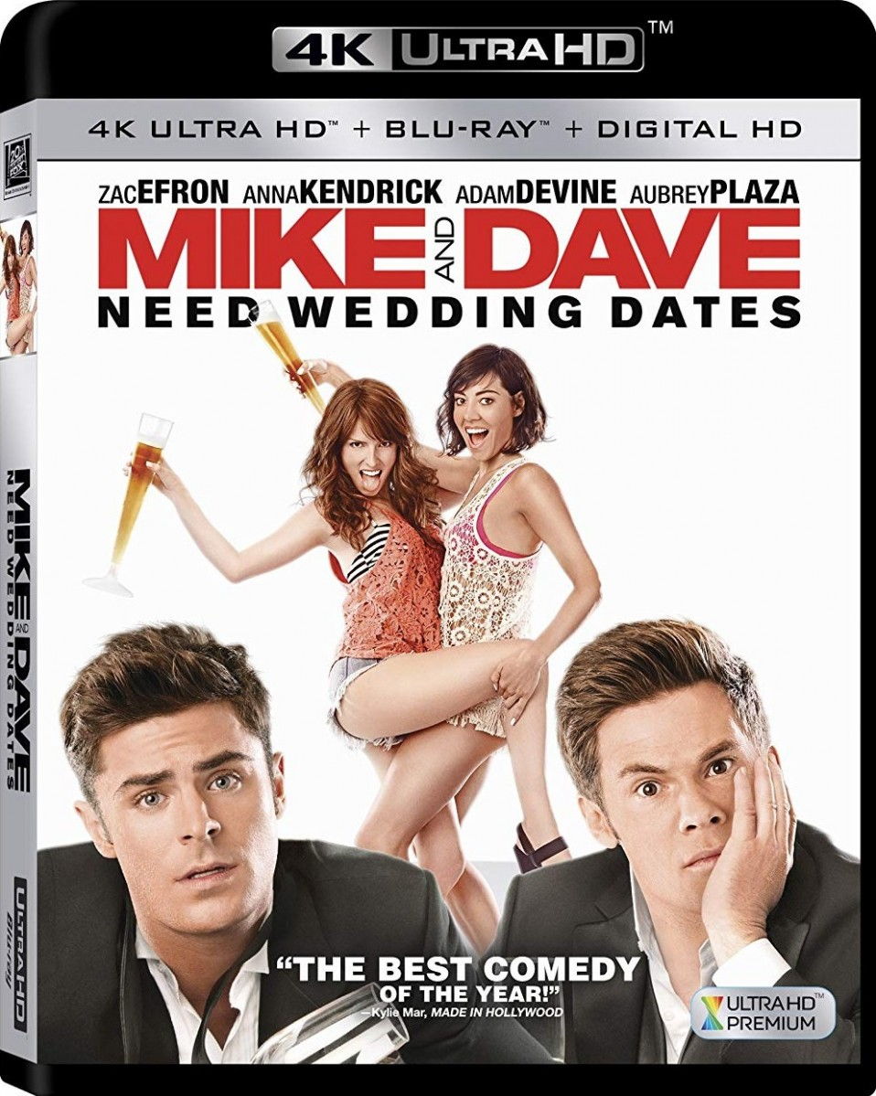 Mike and Dave Need Wedding Dates [4K UHD+Blu-Ray]