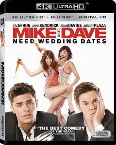 Mike and Dave Need Wedding Dates 4K UHD+Blu-Ray - 4K BDF 67400