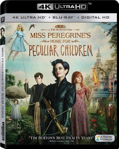 Miss Peregrine's Home for Peculiar Children 4K UHD+Blu-Ray - 4K BDF 63730