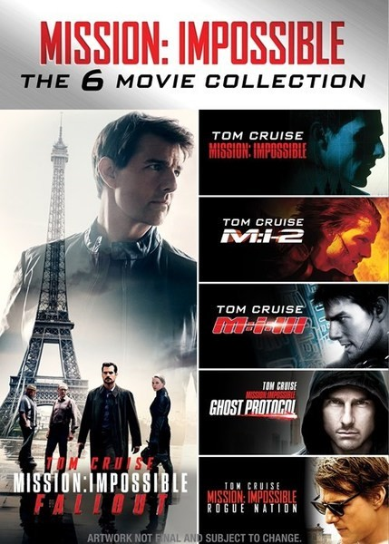 Mission Impossible Collection {1996-2018} 1080p Bl… x264 {Dual Audio} {Hindi-English} ESub By~Hammer~