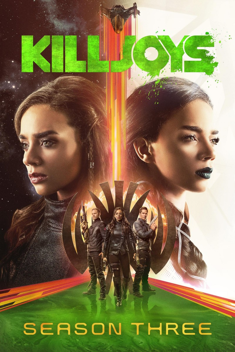 Killjoys: Season 3 DVD - 106927 DVDU