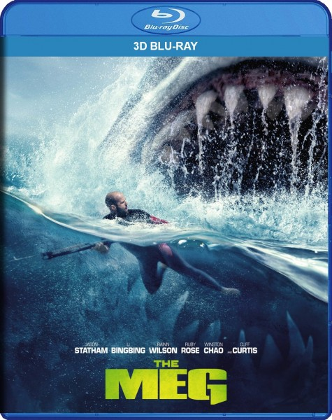 The Meg 3D Blu-Ray - Y35012 BDW