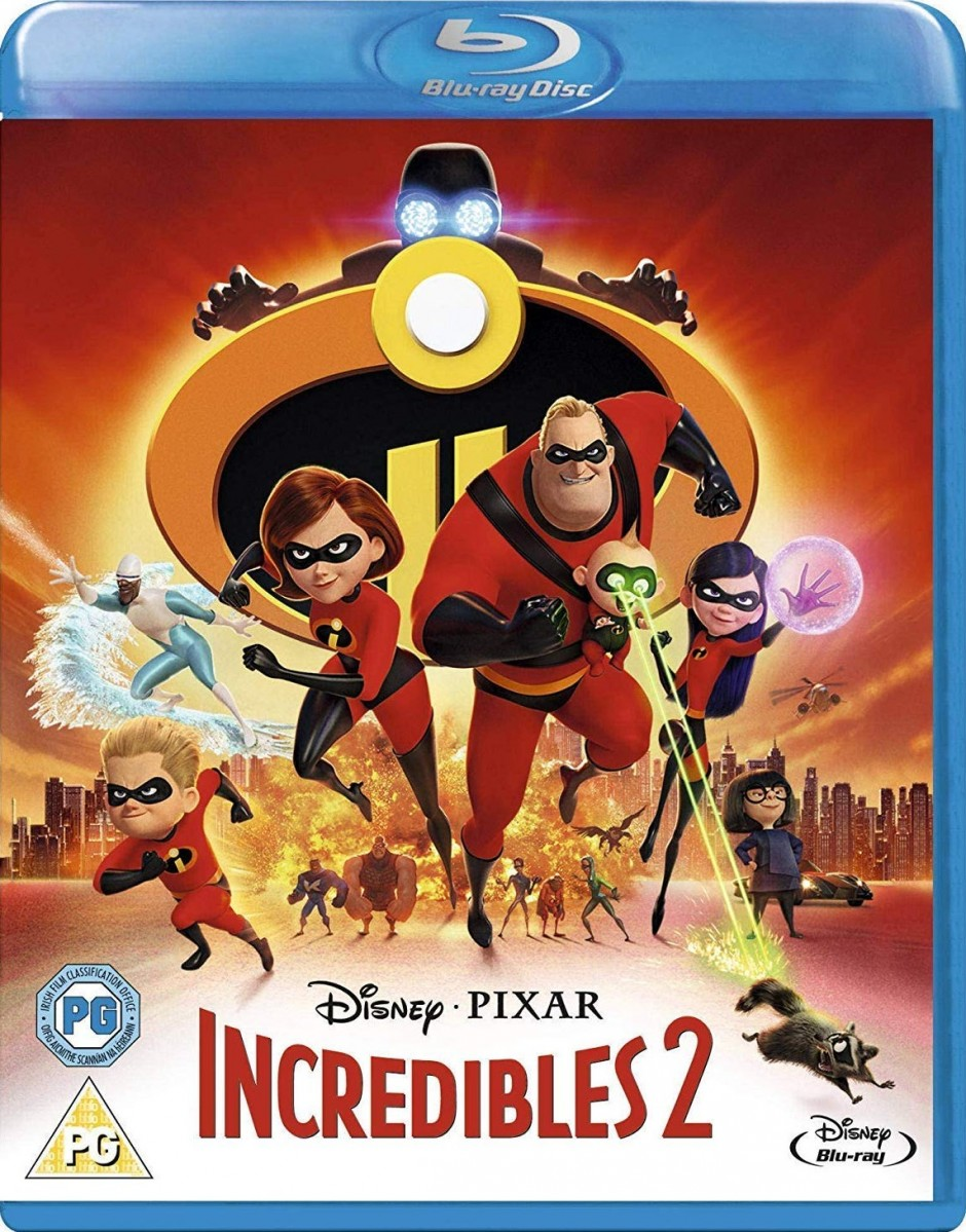 Incredibles 2 Blu-Ray - 10229285