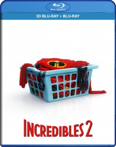 Incredibles 2 3D Blu-Ray+Blu-Ray - 10229289