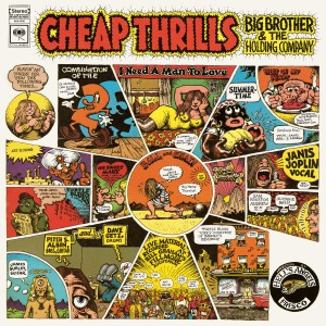 Big Brother & The Holding Company & Janis Joplin - Cheap Thrills VINYL - 19075874991