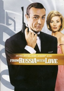 007 James Bond: From Russia With Love DVD - 16175 DVDM