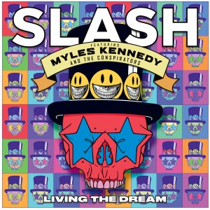 Slash - Living the Dream (feat. Myles Kennedy & the Conspirators) VINYL - RR7427-1