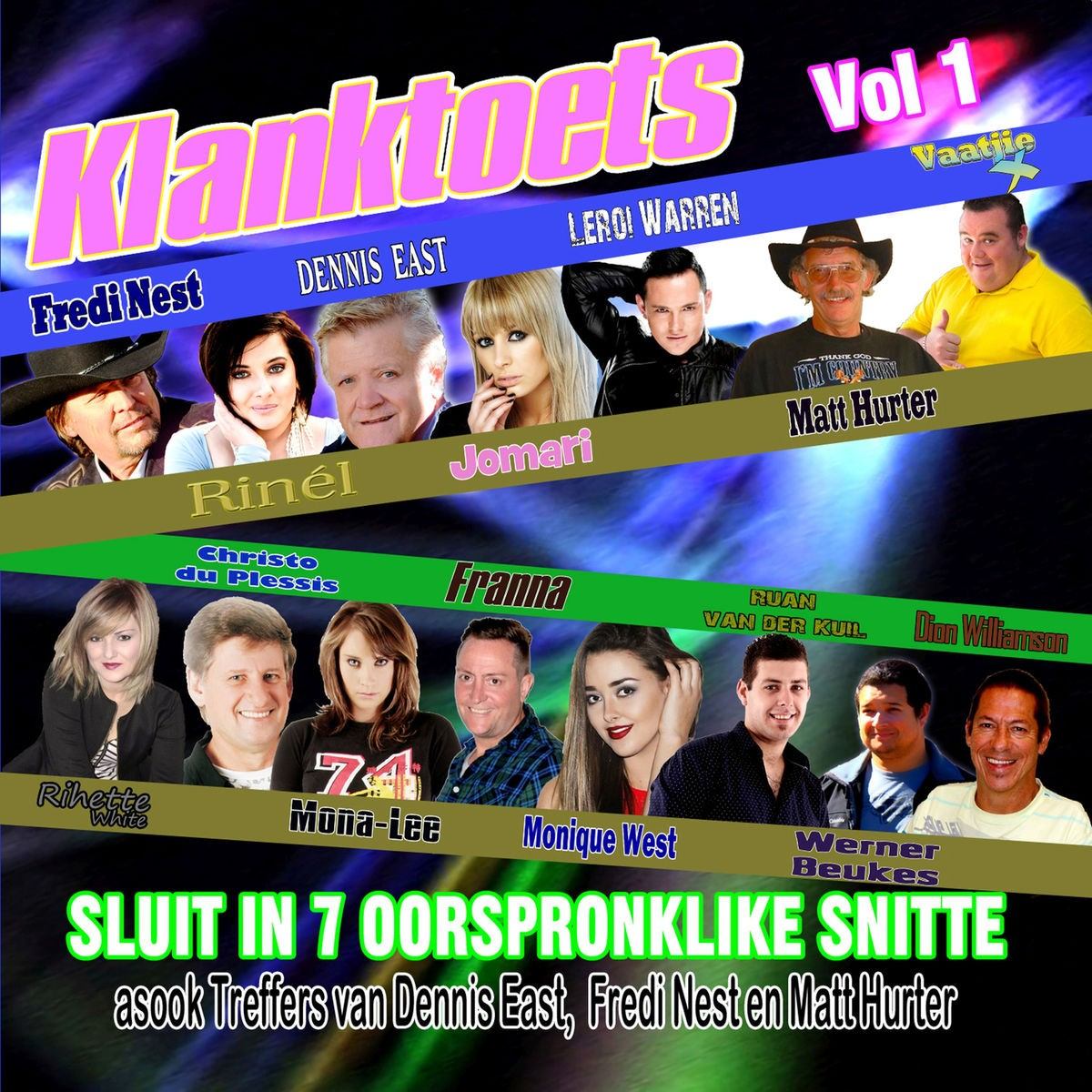 Klanktoets, Vol.1 CD - IBECD101