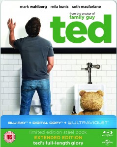 Ted (Limited Edition Steelbook) Blu-Ray - BDU 59392SBFP